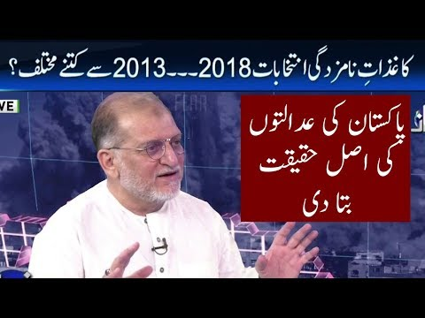 Analysis On Up Coming Elections | Orya Maqbool Jan | Harf E Raz | Neo News