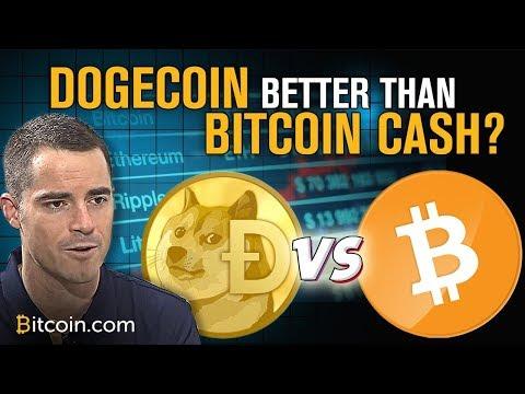 Dogecoin More Popular Bitcoin Cash? | Roger Ver Explains