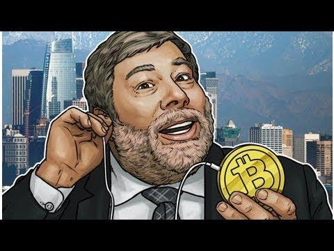 Steve Wozniak: Bitcoin Is 'The Only Digital Gold'