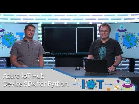 Azure IoT Hub device SDK for Python