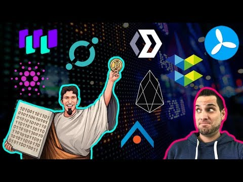 Religion On The Blockchain?!? $1.1M $EOS Lost | McAfee For President | $ICX $WTC $CPX $ADA $TKY $ELA