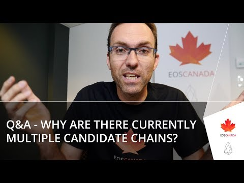 Q&A – Why Are There Currently Multiple EOS Candidate Chains?