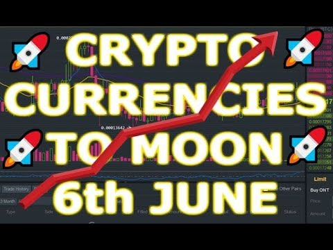 Bitcoin, Ethereum, XRP, BCH, LTC, TRX, EOS, Altcoins to MOON on 6th June?