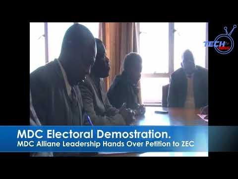 MD Alliance leadership handover petition to ZEC