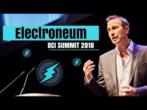 Electroneum BCI Summit Analysis