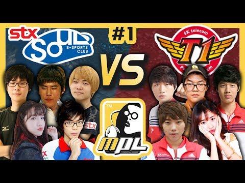 [파이]  STX SOUL vs SKT T1 #1, 봉준 스타프로리그 개막!(feat.염보성,조일장,진영화) – MPL(Starcraft Moo Proleague)/18.06.06