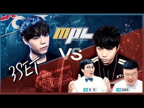 ★무 프로리그 8강 A조 3경기★ STX Soul 김윤환 VS SKT1 도재욱 ★ MOO Starcraft PROLEAGUE MPL 봉준