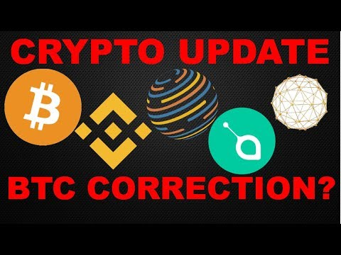Bitcoin (BTC) Correction?   Binance (BNB) to trade Fiat? Factom (FCT)/ Siacoin (SC)/ Waykichain