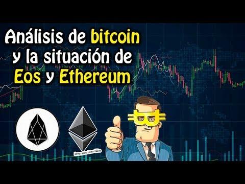 Análisis de bitcoin y la situación de EOS y Ethereum | análisis de mercado