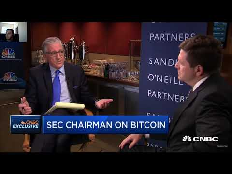 SEC Chairman on Bitcoin / Cryptocurrencies    CNBC Fast Money