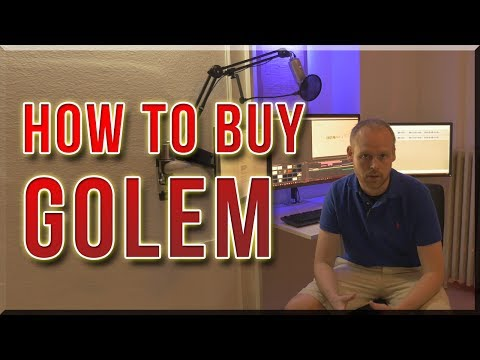 How to buy Golem tokens and safely store them in your local Mist wallet