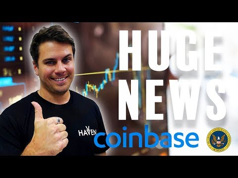 HUGE Coinbase News Announcement, and why this is a BIG Deal