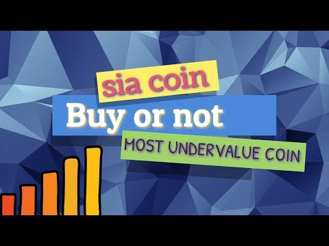 Most Undervalue Coin To Buy In 2018 – Sia Coin Price Prediction In Hindi & Should We Buy or Not