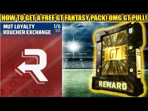 HOW TO GET A FREE GOLDEN TICKET FANTASY PACK! OMG GT PULL!  | MADDEN 18 ULTIMATE TEAM