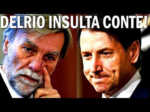 """DELRIO INSULTA CONTE """"NON SIA PUPAZZO!"""" GOVERNO CONTE PD #GovernoConte #M5S #LEGA"""