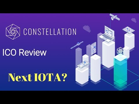 Constellation Labs ICO Review – ⚡️The Next IOTA?⚡️
