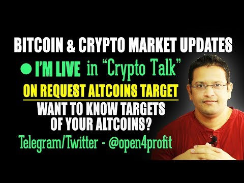 LIVE Altcoins Discussion & Targets. Want to Know Targets for Sia, DGB, VEN, TRON, TNB & much more