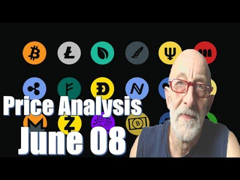 Bitcoin, Ethereum, Ripple, Bitcoin Cash, EOS, Litecoin, IOTA Price Analysis, June 08 – Clif High