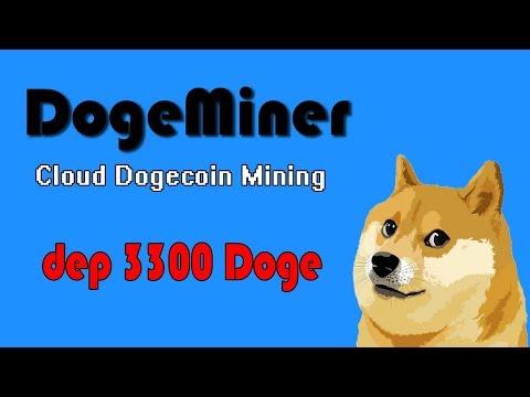 НОВЫЙ DogeMiner – добываем Doge с умом! Dep 3300 собак!