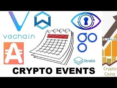 Upcoming Cryptocurrency Events (end of June) – VeChain, Stratis, AppCoins, Wanchain, Ambrosus, Omise
