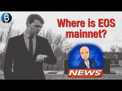 LIVE: Where Art Thou $EOS Mainnet? Cryptocurrency News, Analysis, Updates AND TRX GIVEAWAY!!