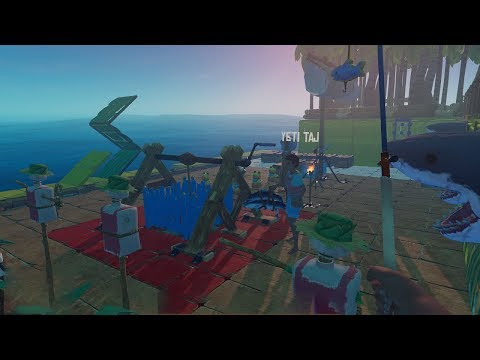 Raft Survival Multiplayer Tập 11: Xây Neo khổng lồ cho tàu