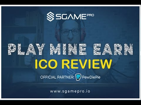 SGAMEPRO ICO REVIEW SUPPORTED BY PEWDIEPIE JUNE 2018 – CRYPTOCURRENCY REVIEWS