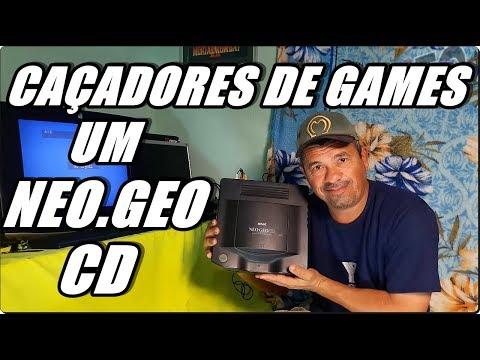 Caçadores de Games (C114) Um Neo.Geo CD Por 5 Reais