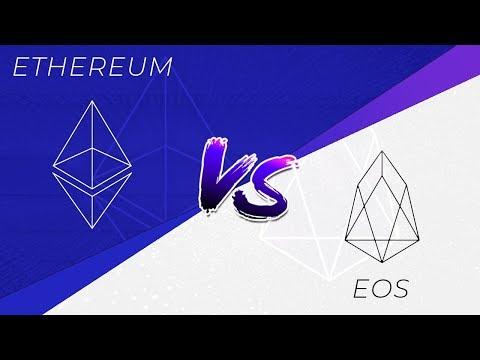 Ethereum (ETH) vs EOSIO (EOS) : analyse et comparaison