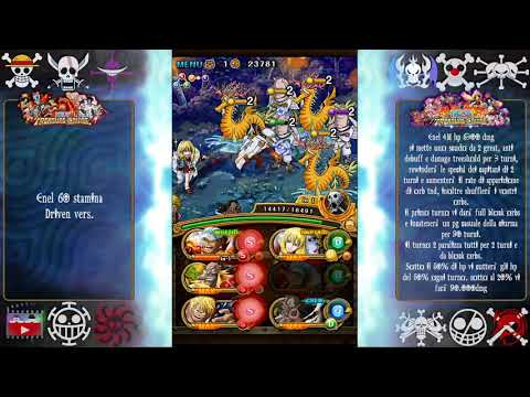 Neo Enel 60 Stamina Driven version F2P [OPTC ITA]