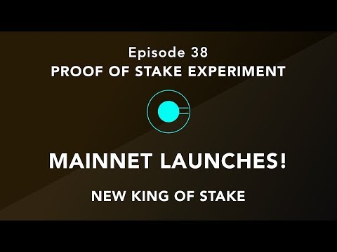 Proof of stake experiment episode 38 – Keep calm and carry on staking. New king of stake this week