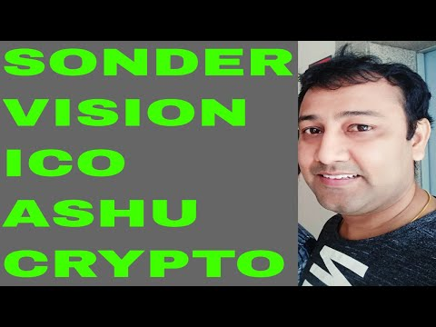 Ico Review Sonder Vision SNR | Latest Cryptocurrency news channel crypto news today 2018