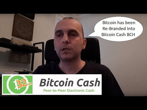 Bitcoin system re-branded into Bitcoin Cash BCH