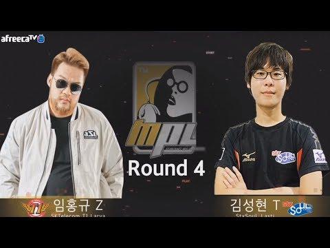 무프로리그 MPL A조#1 4경기 STX 김성현 VS SKT 임홍규 2018.06.06