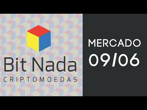 Mercado de Cripto! 09/06 Marasmo / BTC / DGB / #TimeBitNada