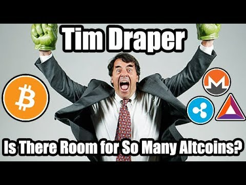 Tim Draper Interview: Is There Room For So Many Altcoin?? [Cryptocurrency | Bitcoin News]