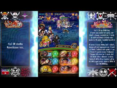 Neo Enel 60 Stamina Powerhouse version F2P [OPTC ITA]