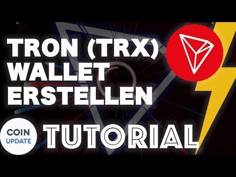 TRON (TRX) Wallet erstellen mit dem TRON-Explorer