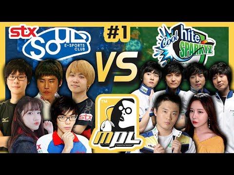 [파이] STX 소울 vs Hite 스파키즈 #1, A조패자전 봉준 스타 프로리그 – MPL(Starcraft Moo Proleague)/18.06.09