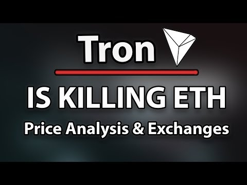 TRON (TRX) Is Killing Ethereum, Price Analysis & All Exchanges That Support!
