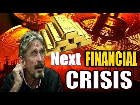 Gold And Bitcoin In The Next Financial Crisis – John McAfee Warns