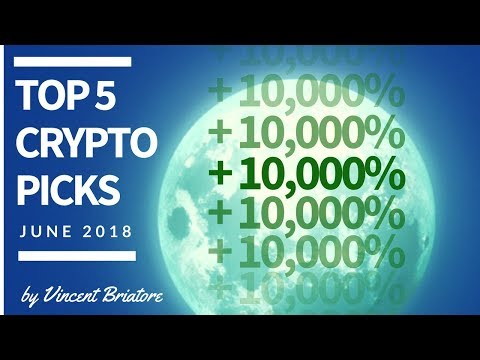 Top 5 Cryptocurrency Picks For June 2018