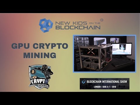 GPU Mining with Easy Crypto Hunter at Blockchain International Show