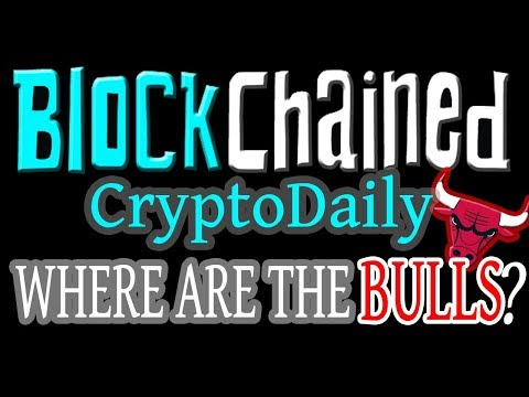 Cryptocurrency Daily – Where are the BULLS? Institutional Investors? Is it ALL a LIE?