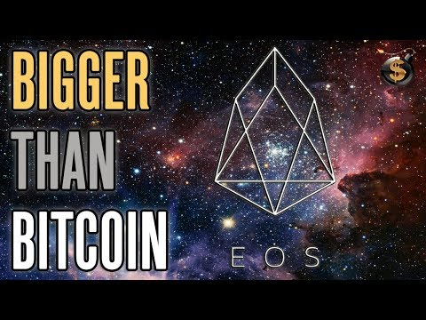 EOS Could Be Bigger Than Bitcoin And Is An Experiment of Free Markets On The Blockchain