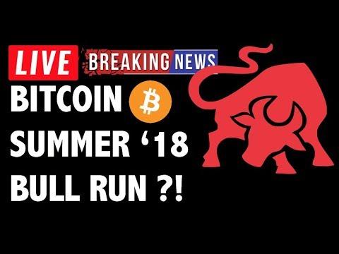 CRYPTO & BITCOIN BULL RUN SUMMER 2018?! – CRYPTOCURRENCY NEWS