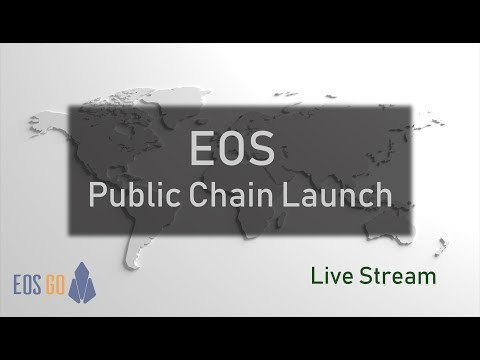 It's time to launch the chain! – EOS Public Chain Launch – Live Stream