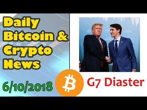 Daily Bitcoin and Cryptocurrency News for 6/10/2018