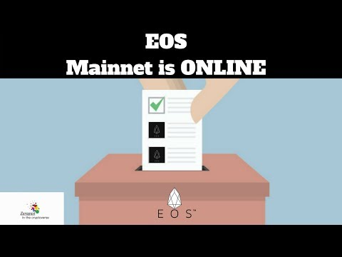 EOS | Mainnet is ONLINE