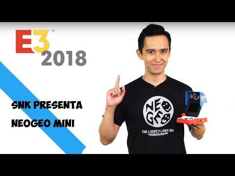 E3 2018: anuncio oficial de la Neo Geo mini de SNK lista de juegos final y cuando será lanzada